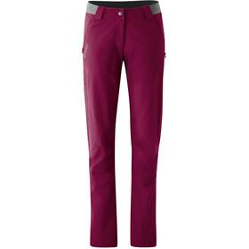 Maier Sports Norit 2.0 Pantaloni Donna, red plum